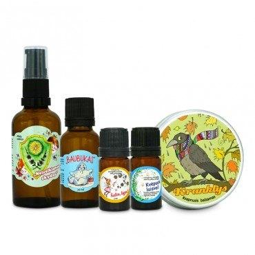 Aromaterapinių priemonių...